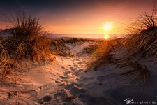 Daenemark-Bild-Strand-Sonnenuntergang
