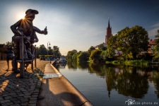 Rathenow-Stadtkanal-Havel-Brandenburg