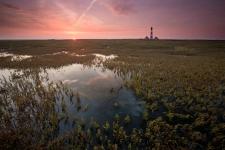 leuchtturm-westerhever-sonnenaufgang-weitwinkel