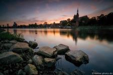 Tangermuende-Tanger-Altmark-Sonnenuntergang