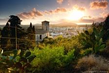 Arta-Mallorca-Kirche-Sonnenuntergang