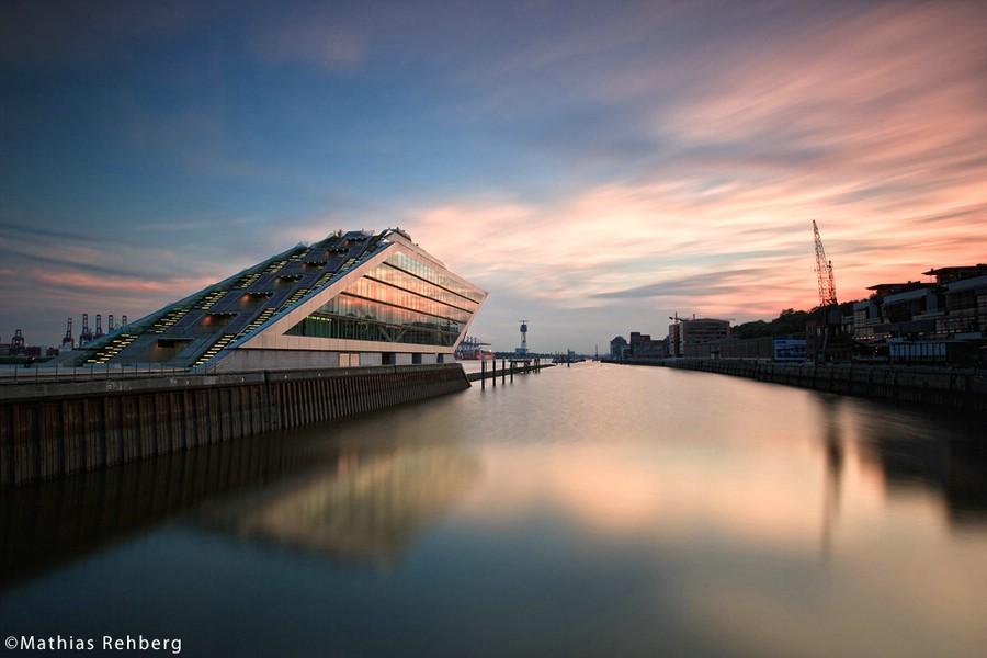 Das Dockland in Hamburg ist ein großartiges Fotomotiv.
