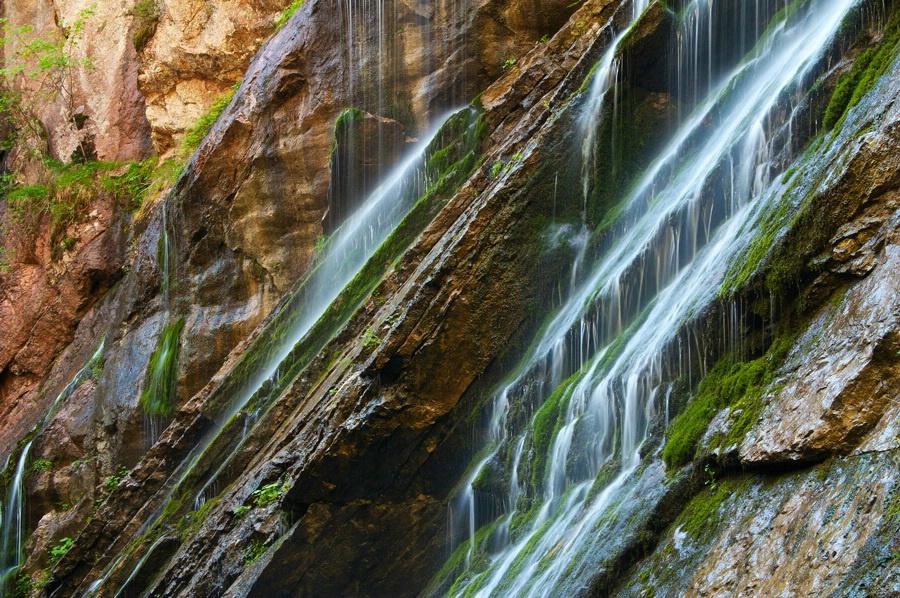 Wasserläufe in der Wimbachklamm