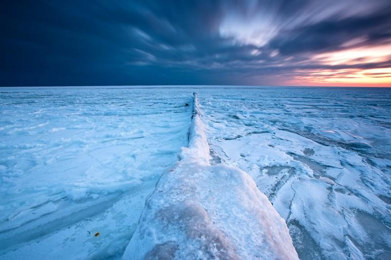 Eis auf Ostsee - Usedom